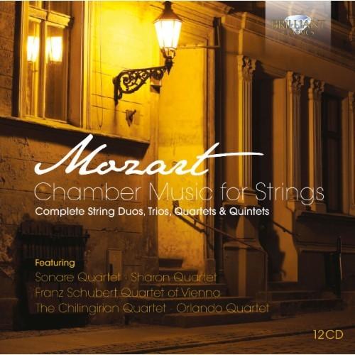 Mozart: Chamber Music for Strings [CD]