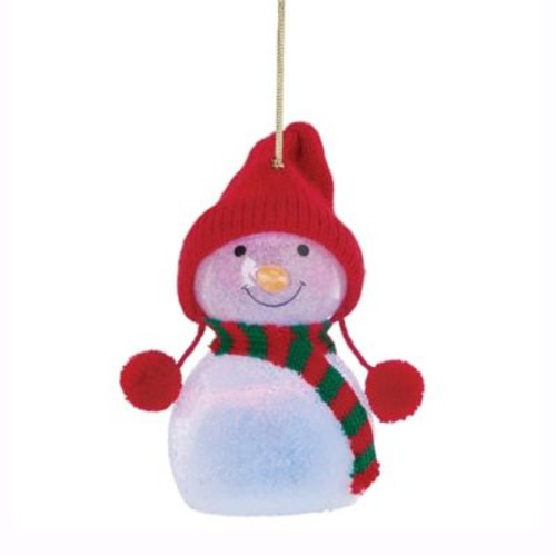 Lenox Wonderball Snowman with Red Knit Hat Ornament