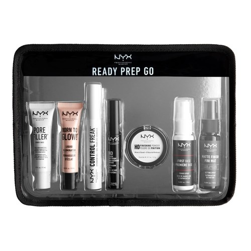 NYX Professional Makeup Ready, Prep, Go Travel Kit