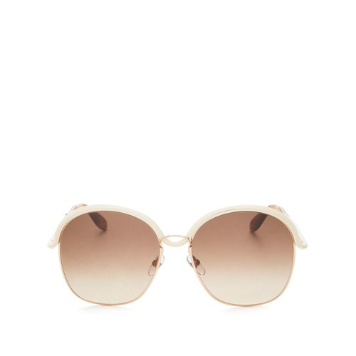 7030 Round Sunglasses, 58mm