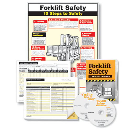 ComplyRight Forklift Training Compliance Bundle, English, 18