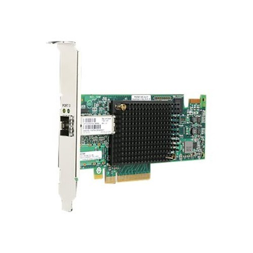 Hewlett Packard Enterprise StoreFabric SN1100Q 16Gb Single Port - Host bus adapter - PCIe 3.0 low profile - 16Gb Fibre Channel x 1 - for ProLiant DL360 Gen10 (P9D93A)