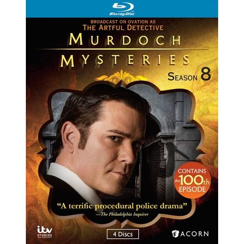 Murdoch Mysteries: Season 8 [Blu-ray]