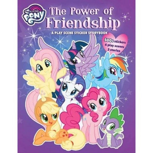 My Little Pony: the Power of Friendship: a Giant Panorama Sticker Book : A Panorama Sticker Storybook