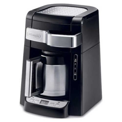 Delonghi 10 Cup Drip Coffee Maker - Black
