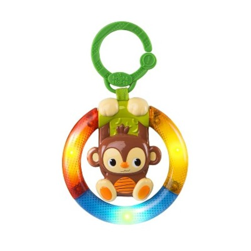 Bright Starts Shake & Glow Take-Along Toy - Monkey