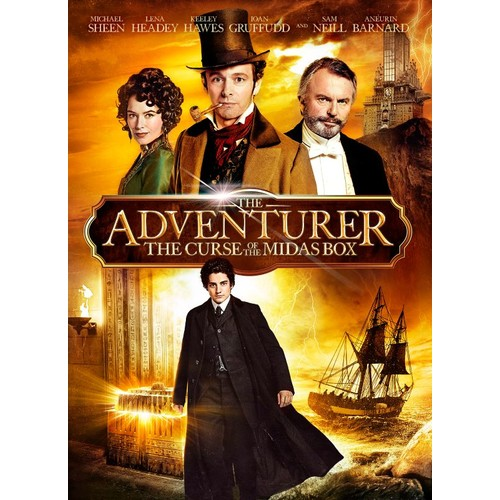 The Adventurer: The Curse of the Midas Box [DVD] [2013]