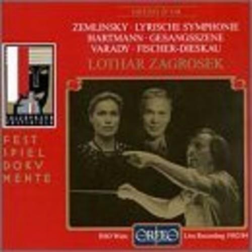 Hartmann: Gesangeszene / Zemlinsky: Lyrische Symphonie