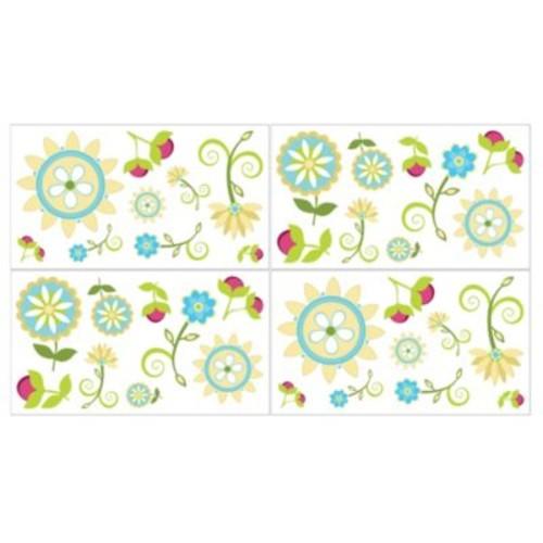 Sweet Jojo Designs Layla Wall Decal Stickers