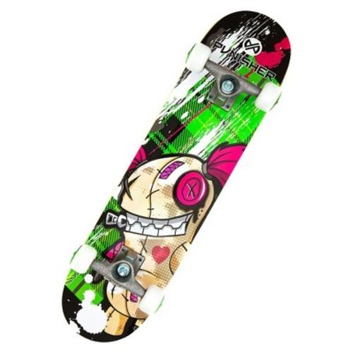 Punisher Skateboards Jinx Complete Skateboard (31\