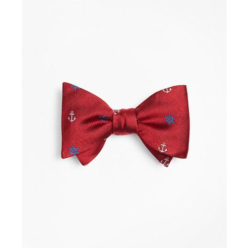 Nautical Motif Bow Tie