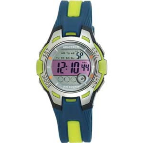Armitron 45/7030NVLG Blu 35mm resin case with
