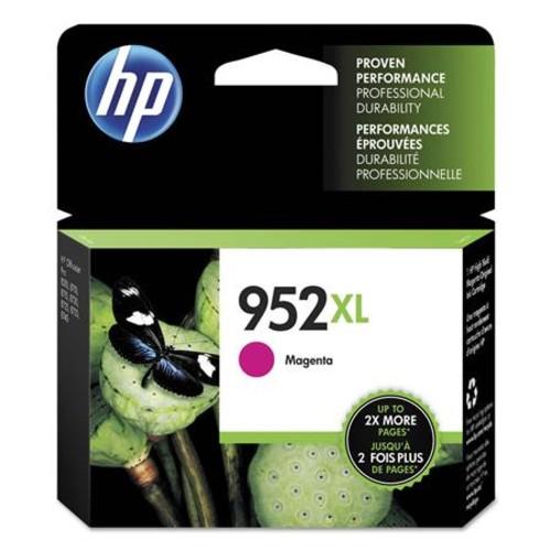 HP 952XL Magenta High Yield Original Ink Cartridge, 2000 Pages Yield