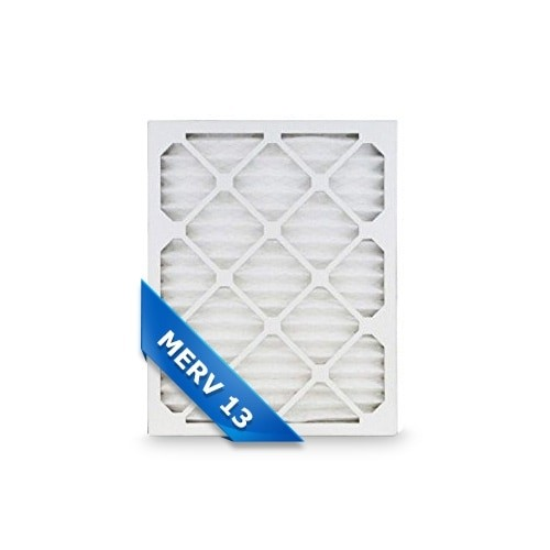 Replacement Pleated Air Filter for 16x25x1 Merv 13