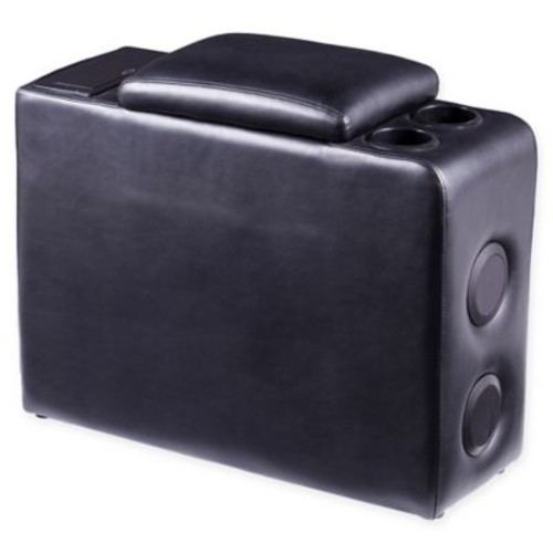Southern Enterprises Menlow Portable Bluetooth Speaker Console