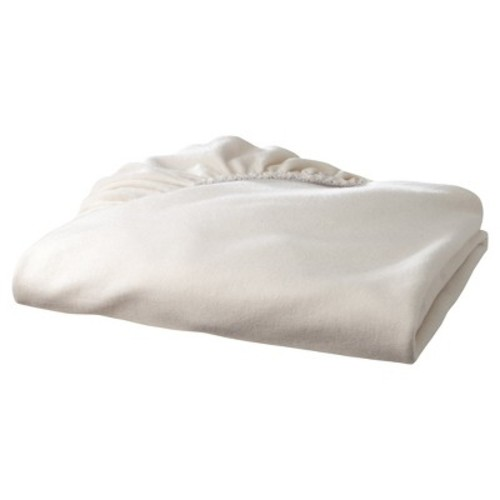 TL Care Organic Knit Cotton Mini Fitted Crib Sheet - Natural