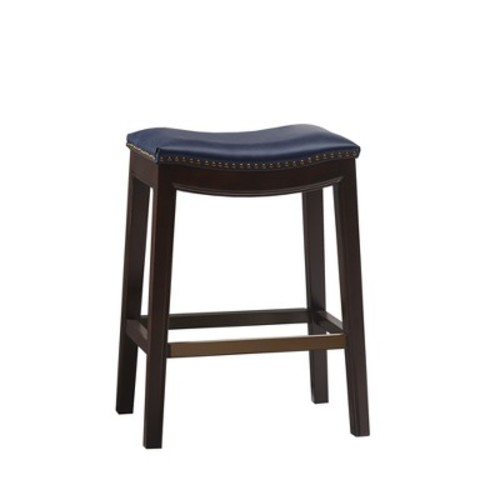 Eliane Saddle Counter Stool, Quick Ship
