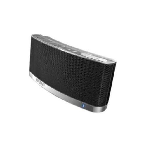 Spracht Blunote2.0 Speaker System - 10 W RMS - Portable - Battery Rechargeable - Wireless Speaker(s) - Black - Bluetooth