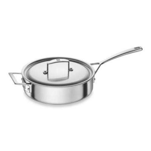 Zwilling J.A. Henckels Aurora 3 qt. Covered Saut Pan with Helper Handle