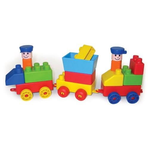 Edushape Mini Edu-Train, 30 Piece