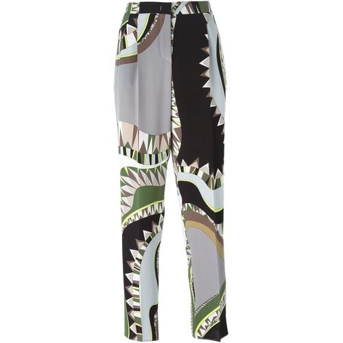 EMILIO PUCCI Geometric Print Trousers