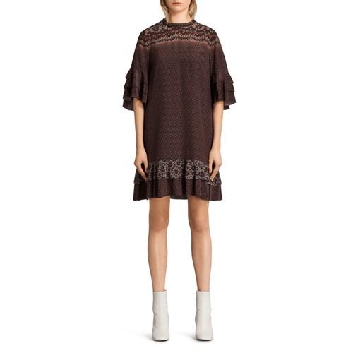 ALLSAINTS Rayen Anokhi Silk Dress
