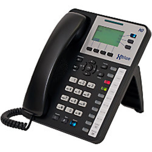 XBLUE X-50 VoIP Wi-Fi Telephone System With 5 X3030 IP Phones