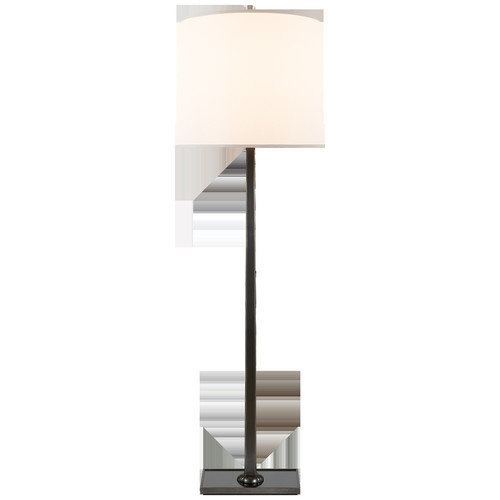 Petal Floor Lamp in Various Finishes w\/ Silk Shade design by Barbara Barry - Bronze [Finish : Bronze]