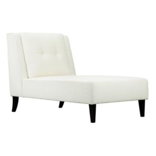 Pangea Home Logan Chaise in Cream