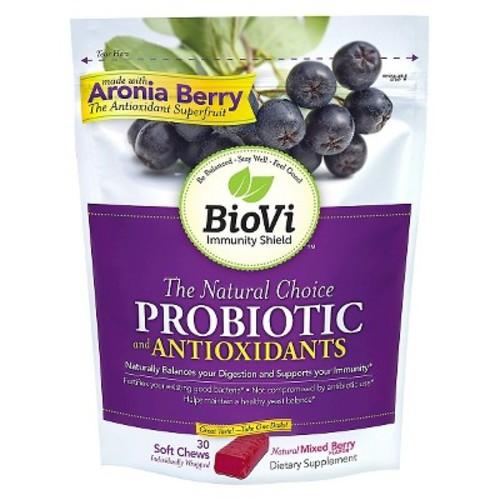 BioVi Probiotic Soft Chews Mixed Berry Flavor - 30 ct