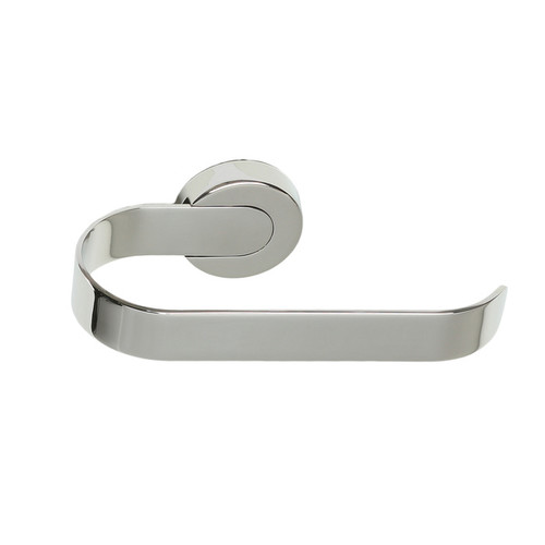 Cortesi Home Milo Contemporary Stainless Steel Wall Mounted Toilet Paper Holder, Chrome