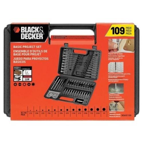 Black & Decker Drill Accessory Set