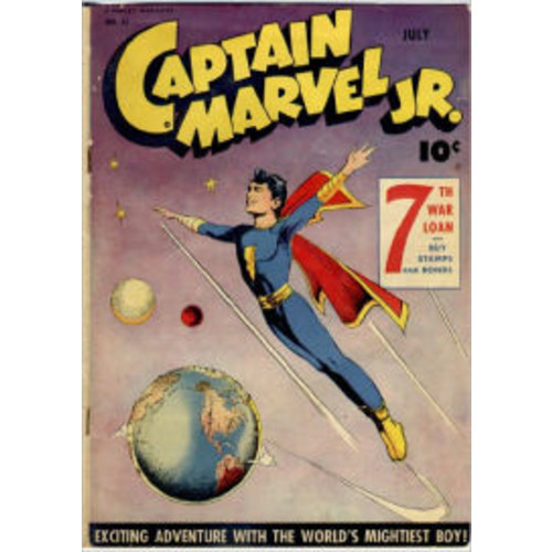 Captain Marvel Jr Number 31 Super-Hero Comic Book