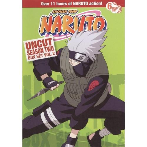 Naruto Uncut Box Set: Season Two, Vol. 2 [6 Discs] [DVD]