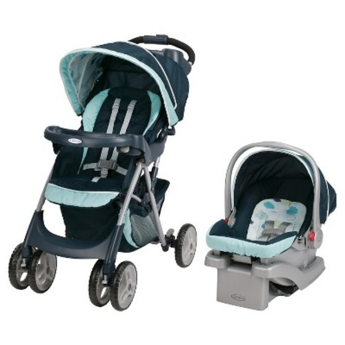 Graco Comfy Cruiser Click Connect Travel System Stroller - Stratus