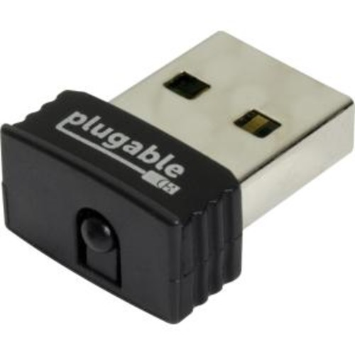Plugable IEEE 802.11n - Wi-Fi Adapter for Notebook - USB 2.0 - 150 Mbit/s - 2.40 GHz ISM - External FOR WINDOWS RASPBERRY PI LINUX