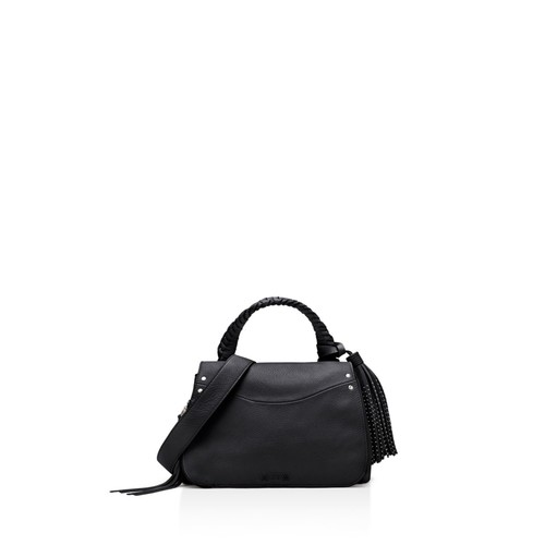 ELIZABETH AND JAMES Trapeze Small Leather Crossbody
