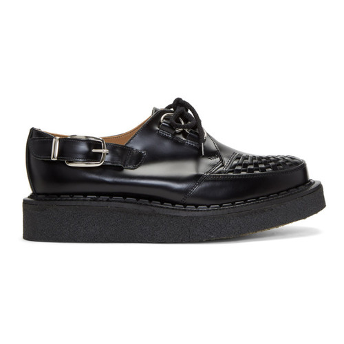 Black George Cox Edition Buckle Gibson Creepers