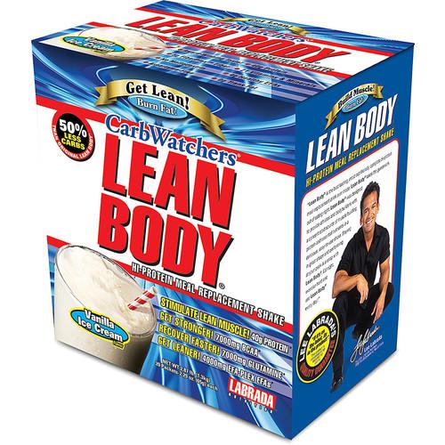 Labrada CarbWatchers Lean Body Powder Vanilla Ice Cream -- 20 Packets