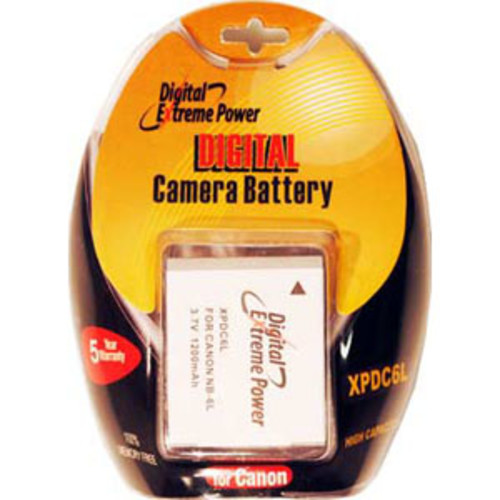 Bower Digital Camera Battery for Canon NB-6L