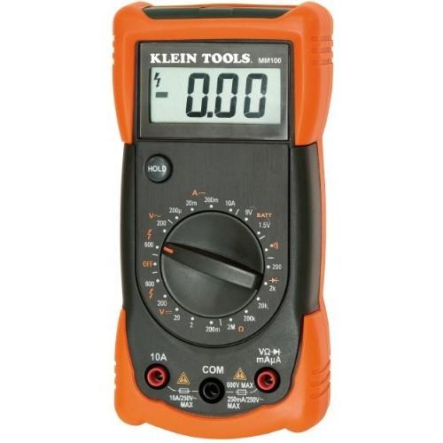 Klein Tools MM100 Manual Ranging Multimeter
