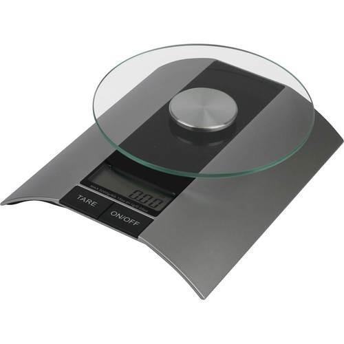 American Weigh Scales - QUARTZ Digital Kitchen Scale - Silver