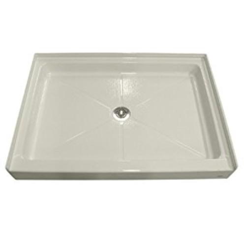 American Standard 6034ST.222 Alcove Single Threshold Shower Base, Linen: Home Improvement [Linen]