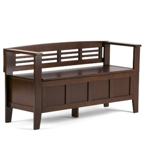 Adams Entryway Bench - Simpli Home