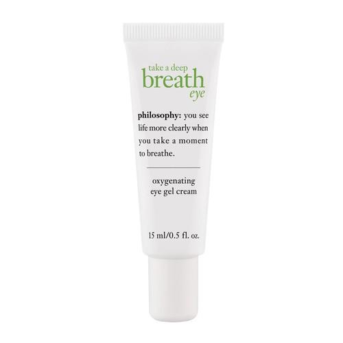 philosophy take a deep breath eye cream 0.5 oz
