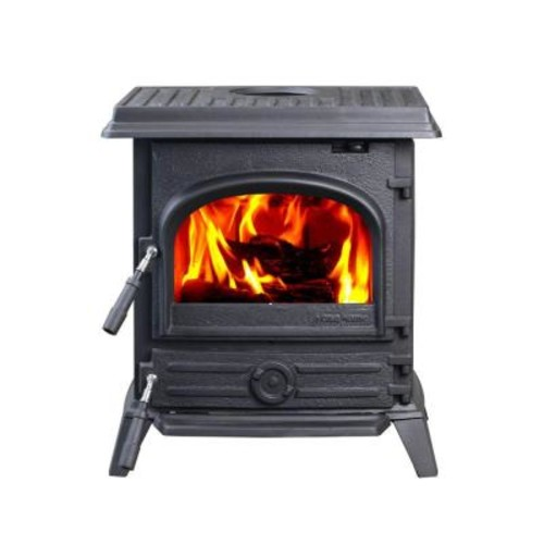 Hi Flame 1200 sq. ft. Pony Small Wood-Burning Stove