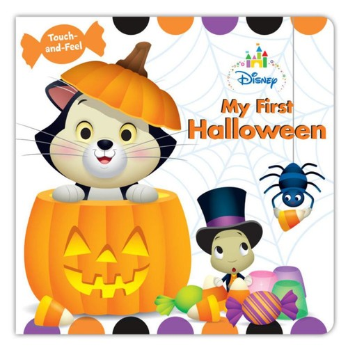 Disney Baby My First Halloween Touch-and-Feel Board Book