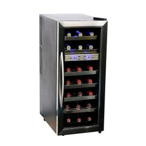 Whynter 21-Bottle Dual Zone Wine Cooler