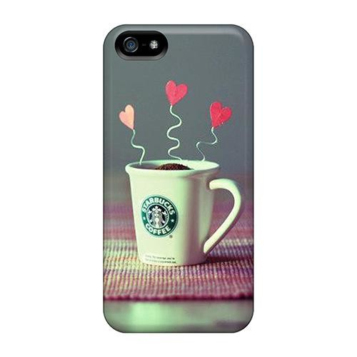 Iphone 6/6s plus Hard Back With Bumper Silicone Gel Tpu Case Cover Starbucks Creative Beauty Hd