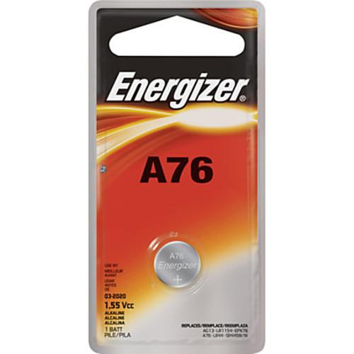 Energizer A76 Watch/Electronic Battery - A76 - Alkaline Manganese Dioxide - 1.5 V DC - 72 / Carton